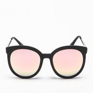 Quay X Chrisspy Jet Lag Sunglasses in Rose